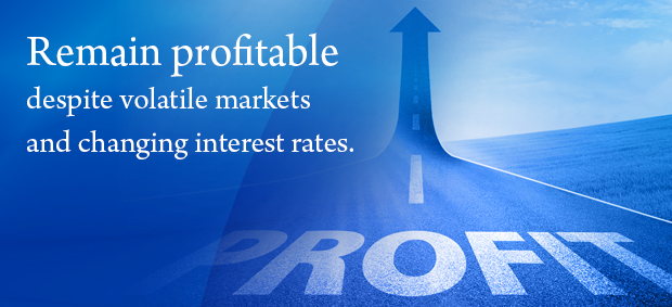 Remain profitable despite volatile markets and changing interest rates.